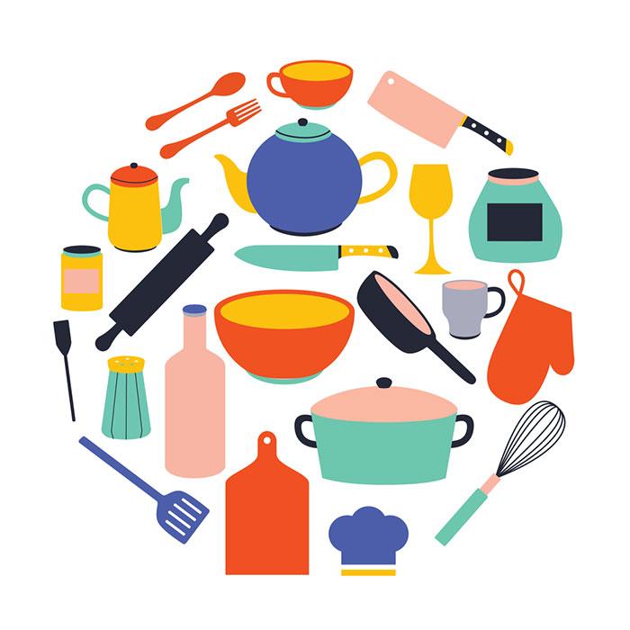 Pots/Pans/Dishes/Plates/Cups